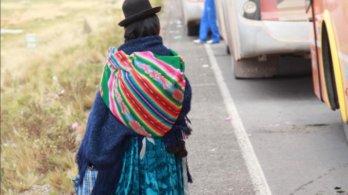 A divided Bolivia