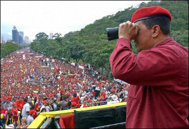 Hug Chavez