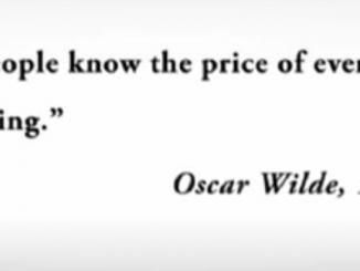 Raj Patel Oscar Wilde