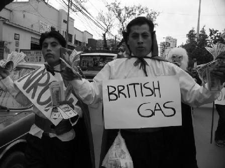 British Gas in Bolivia